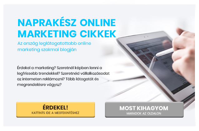 Naprakesz online marketing